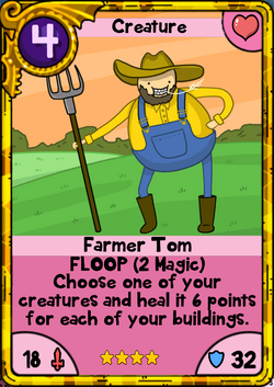 Farmer Tom Gold