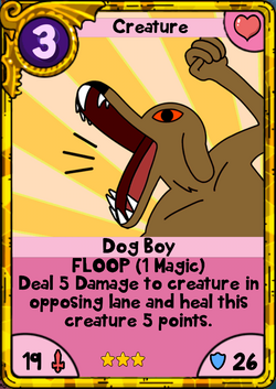 Dog Boy Gold