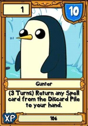 Gunter Hero Card