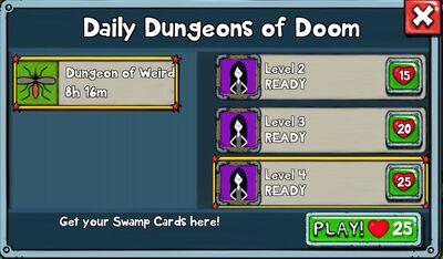 Dungeon of Weird