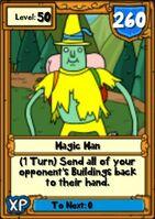 Super Magic Man Hero Card