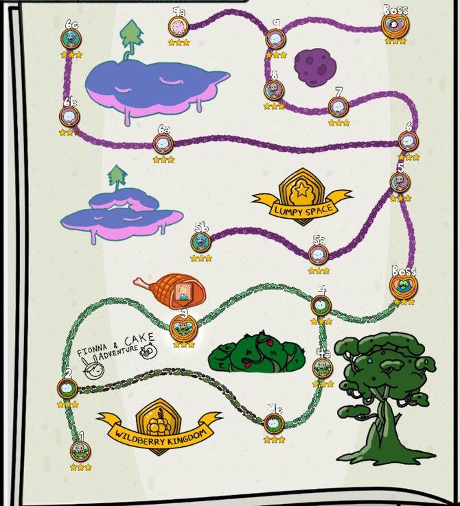 Complete Quest Map FandC