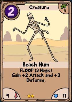 Beach Mum