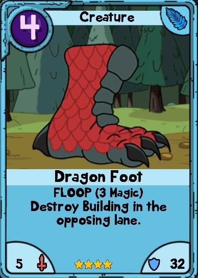 Dragon Foot Card Wars Wiki Fandom Powered By Wikia