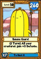 Super Banana Guard Hero Card