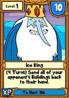 Ice King Hero Card