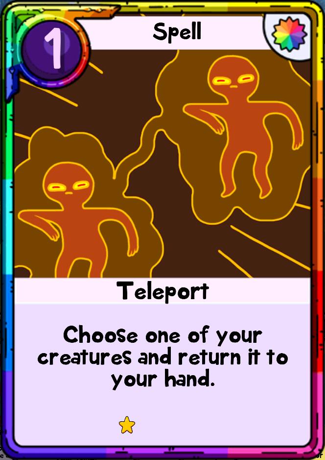 teleport card wars wiki fandom powered by wikia
