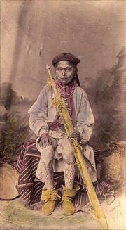Mescalero, Painted boy