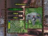 C64 controls menu