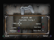 CPS controls menu