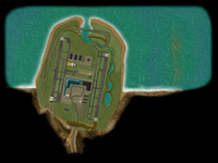 Beaver Airport map