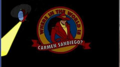 Where in The World is Carmen Sandiego intro