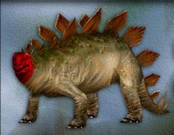 Carnivores Stegosaurus target zone
