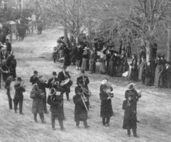 Parade of the dead, Charles town 1910