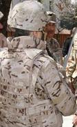 Desert camouflage pattern