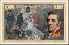 500 thalers 1951