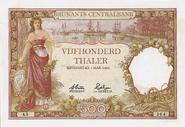 500 THALERS 1928