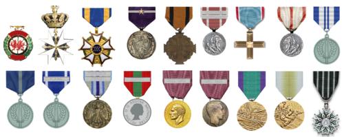 Medals order of precedence