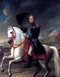 Ambroos I on Horseback, 1821