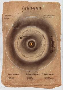 Onus star systems map - Gehanna