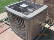 Condenser unit for central air conditioning