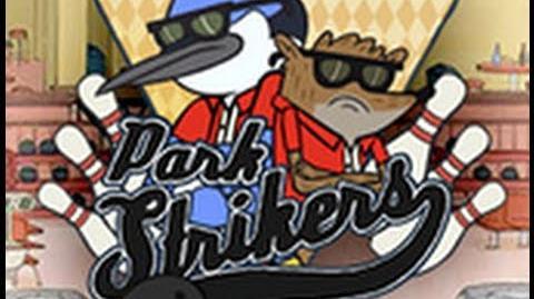 Regular Show Park Strikers Walkthrough w Mordecai HD