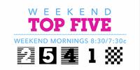 Weekend Top Five