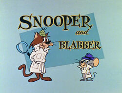 Snooper and Blabber title