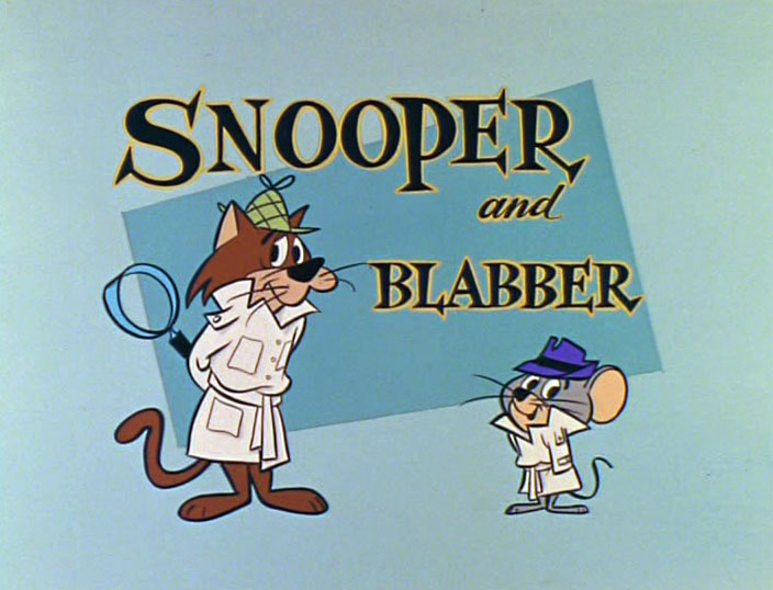 Snooper and Blabber The Cartoon