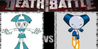 X-J9 VS Robotboy (TV Series)