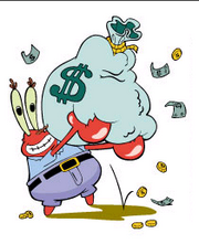 Krabs w- money