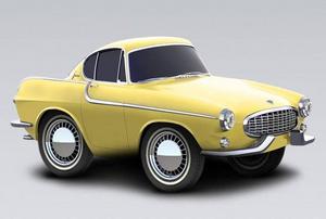 1963 Volvo P1800 S Coupe