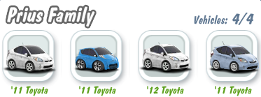 Prius Family Collection