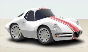 1965 Alfa Romeo Giulia 1600 TZ2 Pininfarina Coupe