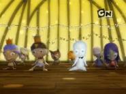 The kids dancing Thriller