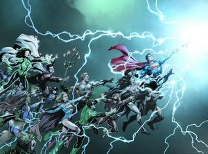 DC Universe Rebirth Vol 1 1 Textless Wraparound