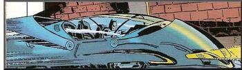 Batman's subway rocket