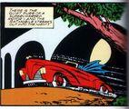 Batmobile Red Roadster