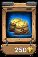 Gold Pack II framed