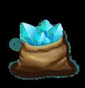 Blue Crystal Bag S