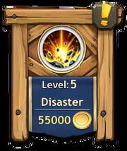 Disaster level 5