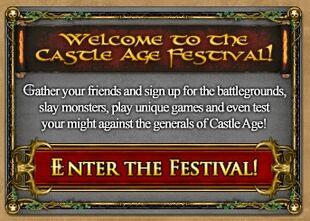 Ca - festival welcome