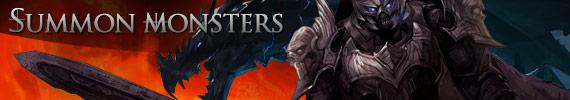 Summon Monster banner