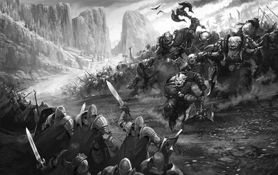 Monster Orc Invasion Dead