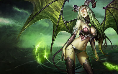 Monster succubus greed large