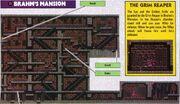 Brahm's Mansion NES Game Atlas