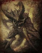 Horned Demon Book of Dracul