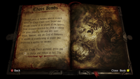 Chaos Bombs Book of Dracul Entry