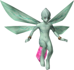 Infant Fairy Transparent