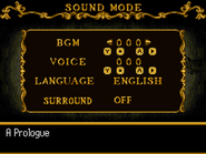 Order of Ecclesia Sound Mode